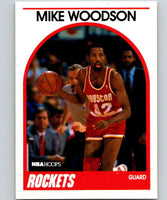 1989-90 Hoops #49 Mike Woodson Rockets NBA Basketball
