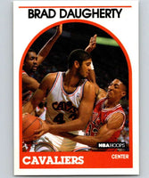 1989-90 Hoops #50 Brad Daugherty Cavaliers NBA Basketball