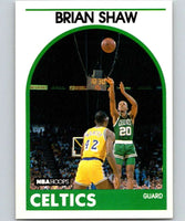 1989-90 Hoops #62 Brian Shaw RC Rookie SP Celtics NBA Basketball