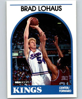 1989-90 Hoops #74 Brad Lohaus RC Rookie SP Sac Kings NBA Basketball