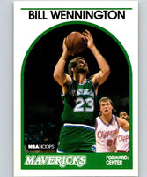 1989-90 Hoops #81 Bill Wennington RC Rookie Mavericks NBA Basketball