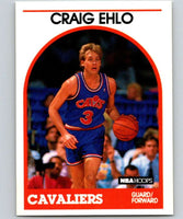 1989-90 Hoops #106 Craig Ehlo RC Rookie Cavaliers NBA Basketball