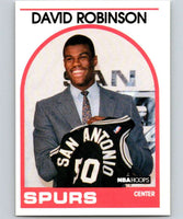 1989-90 Hoops #138 David Robinson RC Rookie SP Spurs NBA Basketball