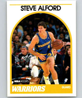 1989-90 Hoops #143 Steve Alford RC Rookie SP Warriors NBA Basketball