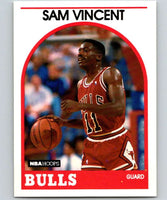 1989-90 Hoops #149 Sam Vincent RC Rookie SP Bulls NBA Basketball