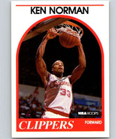 1989-90 Hoops #162 Ken Norman RC Rookie Clippers NBA Basketball