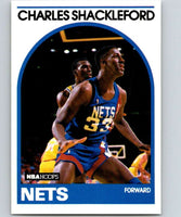 1989-90 Hoops #169 Charles Shackleford RC Rookie NJ Nets NBA Basketball