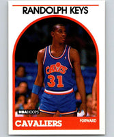 1989-90 Hoops #181 Randolph Keys RC Rookie Cavaliers NBA Basketball