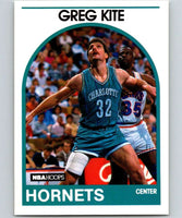 1989-90 Hoops #202 Greg Kite RC Rookie Hornets NBA Basketball