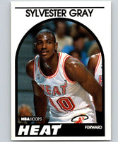 1989-90 Hoops #204 Sylvester Gray RC Rookie Heat NBA Basketball