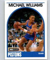 1989-90 Hoops #224 Micheal Williams RC Rookie SP Pistons NBA Basketball