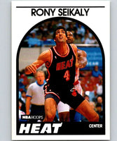 1989-90 Hoops #243 Rony Seikaly RC Rookie Heat NBA Basketball