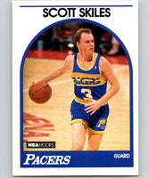 1989-90 Hoops #249 Scott Skiles RC Rookie SP Pacers NBA Basketball
