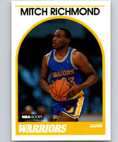 1989-90 Hoops #260 Mitch Richmond RC Rookie Warriors NBA Basketball