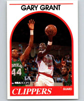 1989-90 Hoops #274 Gary Grant RC Rookie Clippers NBA Basketball