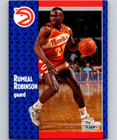 1991-92 Fleer #3 Rumeal Robinson Hawks NBA Basketball