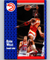 1991-92 Fleer #7 Kevin Willis Hawks NBA Basketball