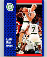 1991-92 Fleer #8 Larry Bird Celtics NBA Basketball