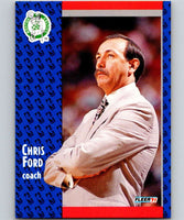 1991-92 Fleer #10 Chris Ford Celtics CO NBA Basketball