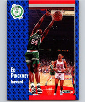 1991-92 Fleer #15 Ed Pinckney Celtics NBA Basketball