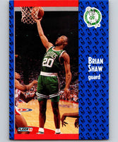 1991-92 Fleer #16 Brian Shaw Celtics NBA Basketball