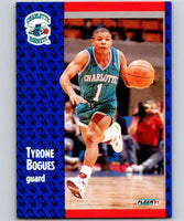 1991-92 Fleer #17 Muggsy Bogues Hornets NBA Basketball