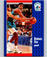 1991-92 Fleer #20 Kendall Gill Hornets NBA Basketball