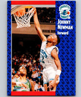 1991-92 Fleer #23 Johnny Newman Hornets NBA Basketball