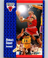 1991-92 Fleer #27 Horace Grant Bulls NBA Basketball
