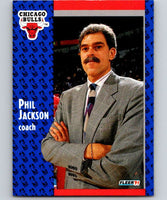 1991-92 Fleer #28 Phil Jackson Bulls CO NBA Basketball