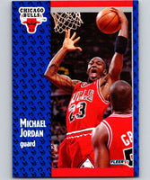 1991-92 Fleer #29 Michael Jordan Bulls NBA Basketball