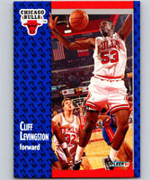 1991-92 Fleer #30 Cliff Levingston Bulls NBA Basketball