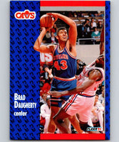 1991-92 Fleer #34 Brad Daugherty Cavaliers NBA Basketball