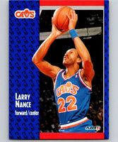 1991-92 Fleer #37 Larry Nance Cavaliers NBA Basketball