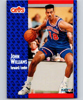 1991-92 Fleer #40 Hot Rod Williams Cavaliers NBA Basketball