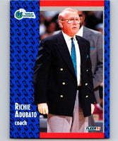 1991-92 Fleer #42 Richie Adubato Mavericks CO NBA Basketball