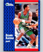 1991-92 Fleer #43 Rolando Blackman Mavericks NBA Basketball