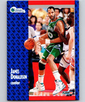 1991-92 Fleer #44 James Donaldson Mavericks NBA Basketball