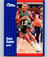 1991-92 Fleer #45 Derek Harper Mavericks NBA Basketball