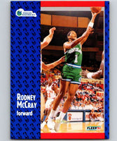 1991-92 Fleer #46 Rodney McCray Mavericks NBA Basketball