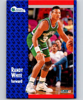 1991-92 Fleer #47 Randy White Mavericks NBA Basketball