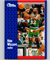 1991-92 Fleer #48 Herb Williams Mavericks NBA Basketball