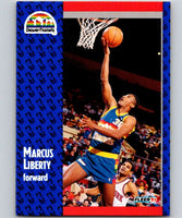 1991-92 Fleer #50 Marcus Liberty Nuggets NBA Basketball