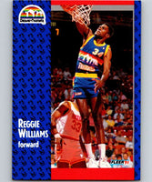1991-92 Fleer #54 Reggie Williams Nuggets NBA Basketball