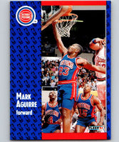 1991-92 Fleer #57 Mark Aguirre Pistons NBA Basketball