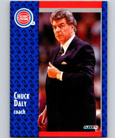 1991-92 Fleer #58 Chuck Daly Pistons CO NBA Basketball