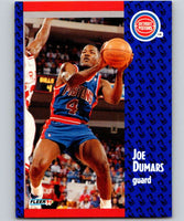 1991-92 Fleer #59 Joe Dumars Pistons NBA Basketball
