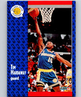 1991-92 Fleer #65 Tim Hardaway Warriors NBA Basketball