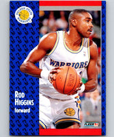 1991-92 Fleer #66 Rod Higgins Warriors NBA Basketball