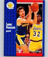 1991-92 Fleer #68 Sarunas Marciulionis Warriors NBA Basketball